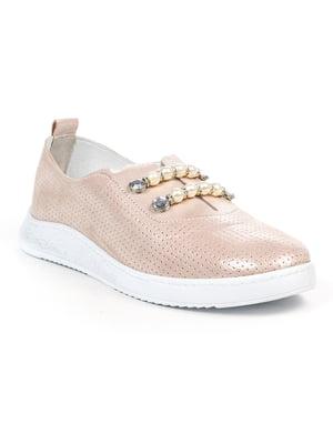 Туфли цвета пудры | 4948047
