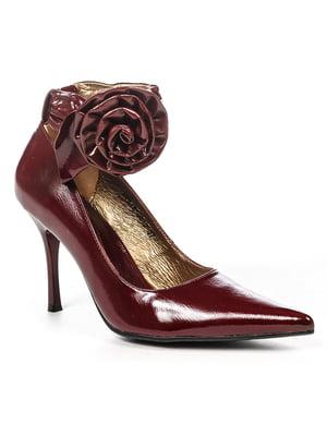 Туфли бордовые | 4948062
