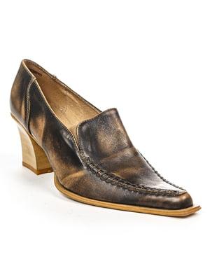 Туфлі чорно-бежеві | 4948059