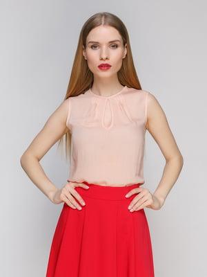Блуза персикового кольору | 4911252
