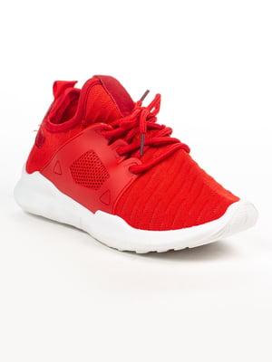 Кросівки червоні | 4948621
