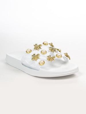 Шлепанцы белые | 4948601