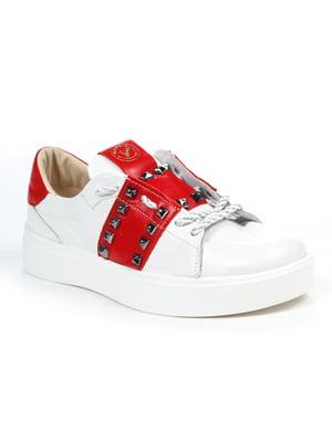 Кеди біло-червоні | 4918809
