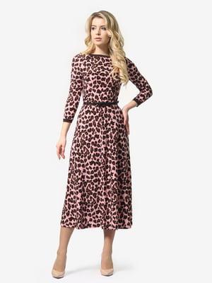 Сукня в леопардовий принт   4976516