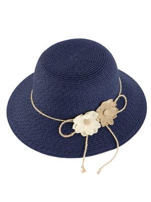 Шляпа темно-синяя | 4975810