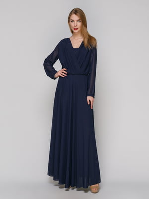 Сукня темно-синя | 4911007