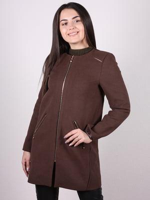 Пальто коричневое | 4977745