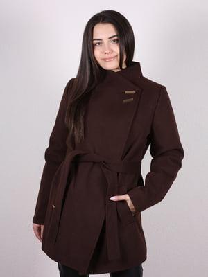Пальто коричневое | 4977768