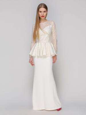 Сукня молочного кольору | 4911079