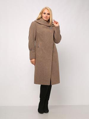 Пальто серо-коричневое | 4920772