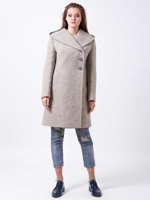 Пальто фисташкового цвета   4977363
