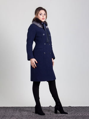 Пальто темно-синее | 4977378