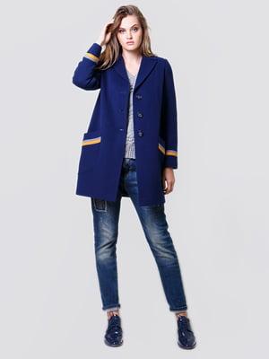 Пальто синее | 4977403