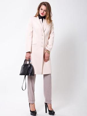 Пальто молочного цвета | 4977494