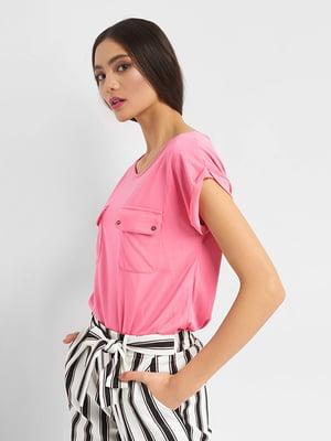 Блуза розовая   4977843