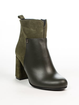 Ботинки цвета хаки | 4948510