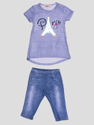 Комплект: футболка и шорты | 4958600