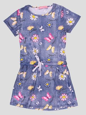 Сукня синя | 4958599