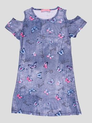 Сукня синя | 4958598