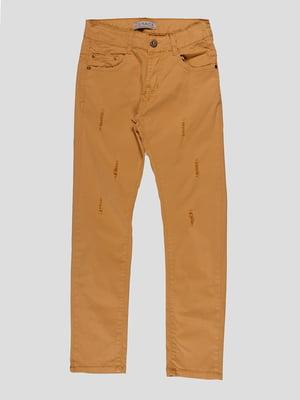 Штани кольору хакі | 4921635
