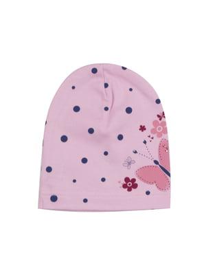 Шапка рожева | 4978516