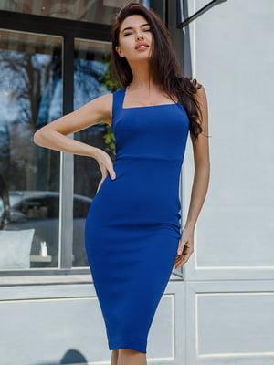 Сукня кольору електрик   4978661