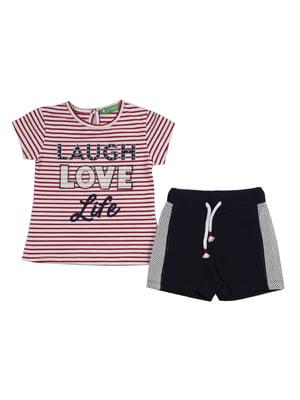 Костюм: футболка и шорты | 4978503