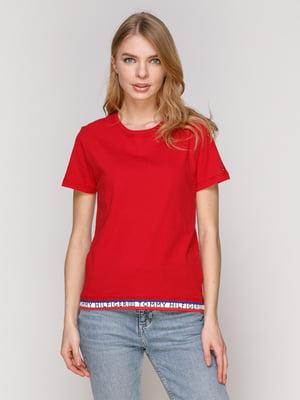 Футболка червона | 4975370