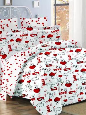 Комплект постельного белья двуспальный | 4971520