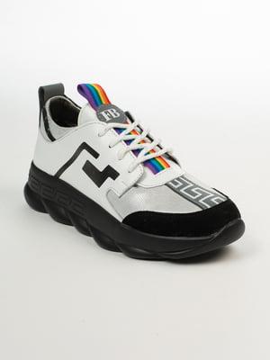 Кросівки біло-сірі | 4958498