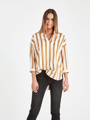 Рубашка в полоску | 4958650