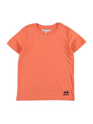Футболка оранжевая | 4958708