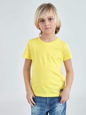 Футболка жовта | 4958711