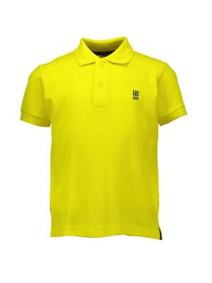Футболка-поло жовта | 4958723