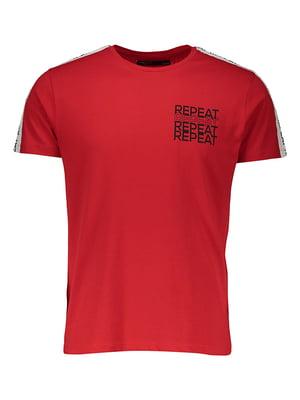 Футболка червона | 4958773