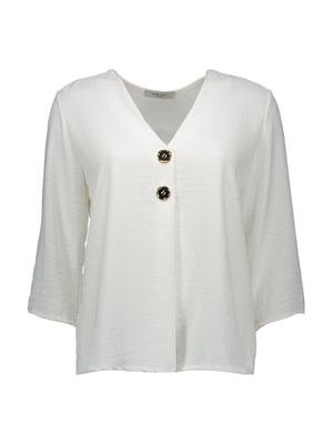 Блуза молочного цвета   4958864