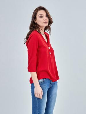 Блуза красная   4958865