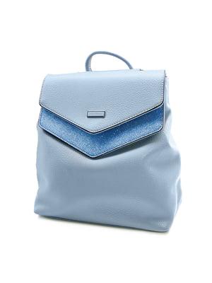 Сумка-рюкзак блакитна | 4978783