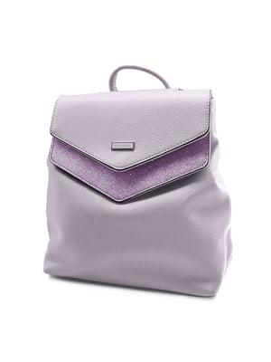 Сумка-рюкзак фиолетовая | 4978784