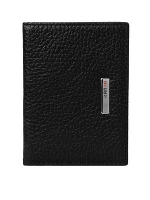 Обложка для водительских документов черная | 4950589
