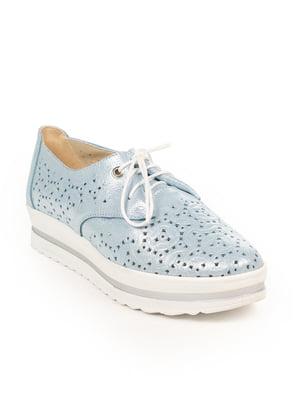 Туфли голубые   4950474