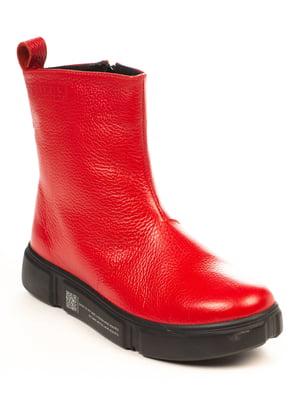 Ботинки красные | 4950451