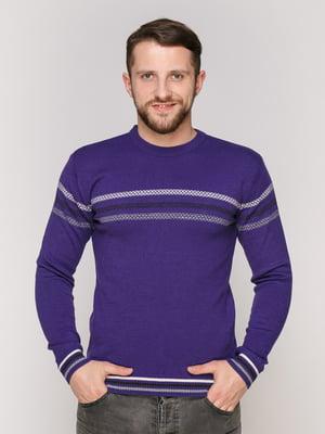 Джемпер фиолетовый | 4906971