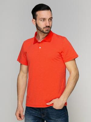Футболка-поло помаранчева | 4959323