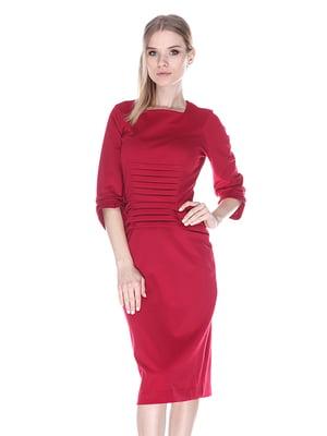 Платье бордовое   3546549