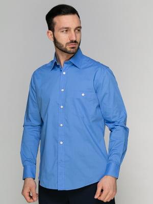 Сорочка блакитна | 4854751