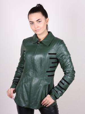 Куртка зелена | 4980332
