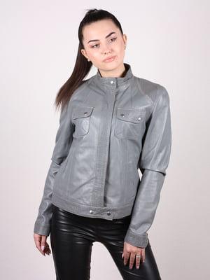 Куртка серо-голубая   4980339