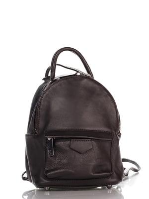 Рюкзак темно-коричневий | 4757361