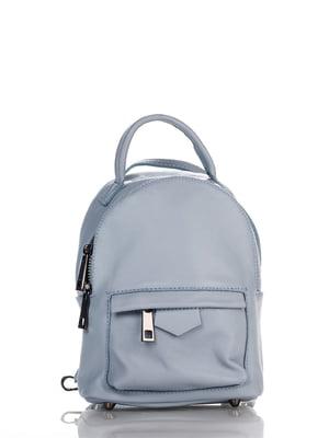 Рюкзак блакитний   4757371